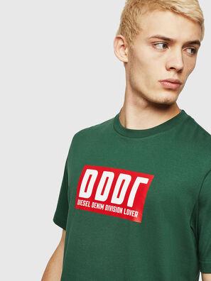 T-JUST-A9, Dark Green - T-Shirts