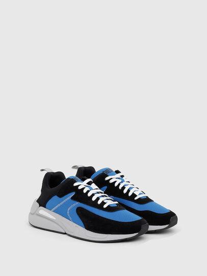 Diesel - S-SERENDIPITY LOW CU, Black/Blue - Sneakers - Image 2