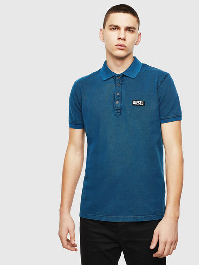 Diesel - T-RANDY-NEW-S3, Blue - Polos - Image 1