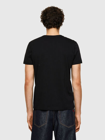 Diesel - T-INY-B1, Black - T-Shirts - Image 2