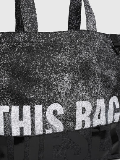 Diesel - D-THISBAG SHOP MB, Gray/Black - Shopping and Shoulder Bags - Image 5