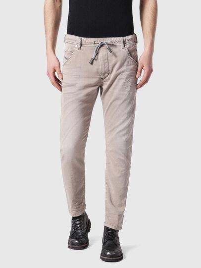 Diesel - Krooley JoggJeans 0670M, Light Brown - Jeans - Image 1