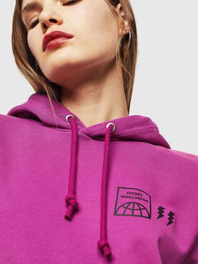Diesel - S-GIRK-HOOD-SUN, Lilac - Sweaters - Image 6
