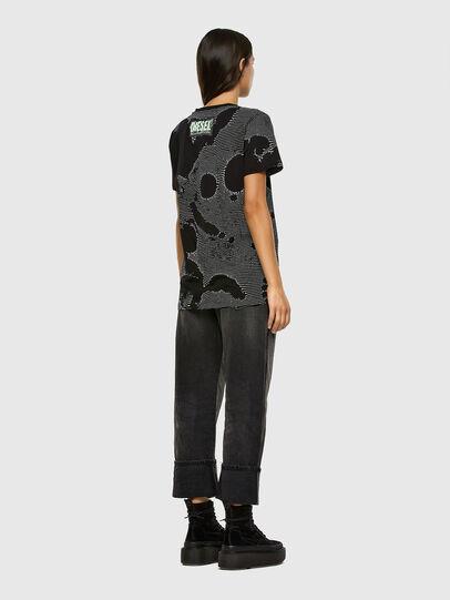 Diesel - T-DARIA-E4, Black - T-Shirts - Image 5