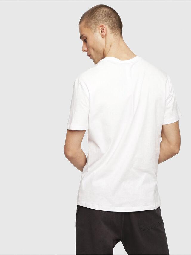 Diesel - UMLT-JAKE, White - T-Shirts - Image 2