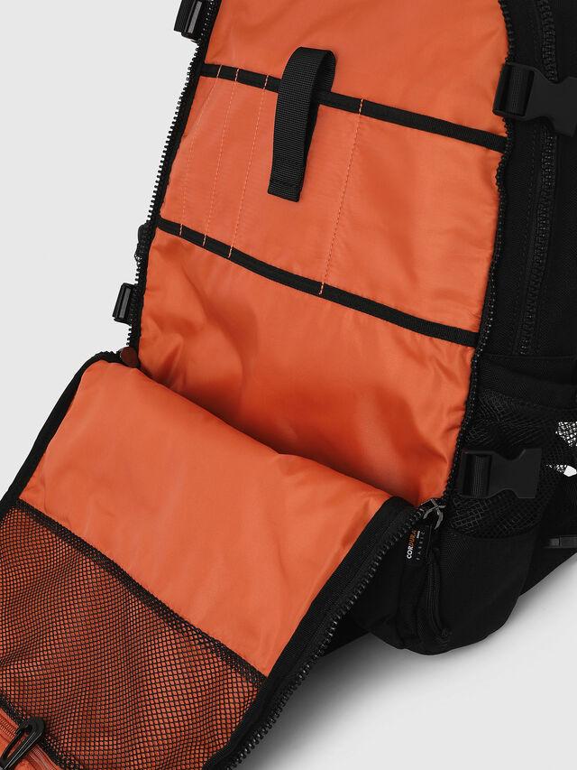 Diesel - F- URBHANITY BACK, Black - Backpacks - Image 5