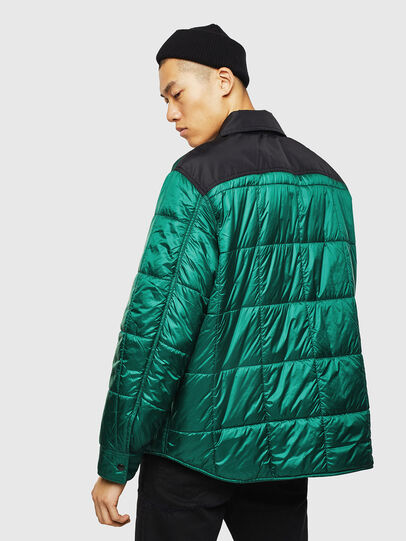 Diesel - J-WELLES, Green - Winter Jackets - Image 2