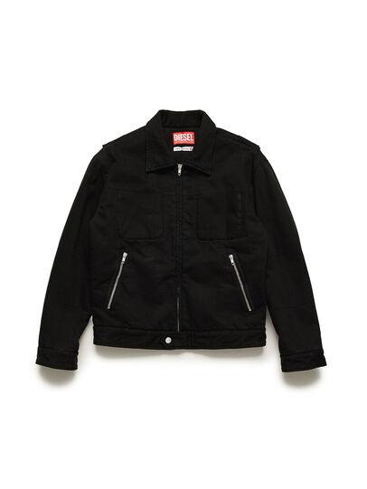 Diesel - GR02-J301, Black - Denim Jackets - Image 1
