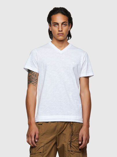 Diesel - T-NORRIE, White - T-Shirts - Image 1