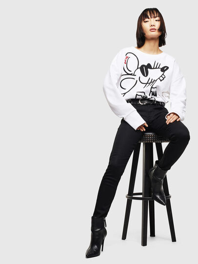 Diesel - CL-F-MAGDA-BIGM, White - Sweaters - Image 6