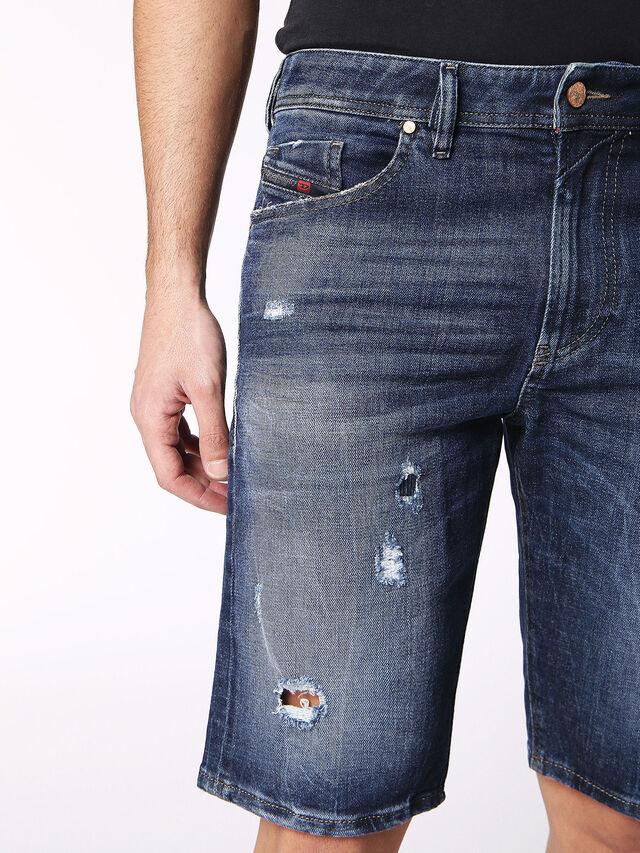 Diesel - THOSHORT, Blue Jeans - Shorts - Image 6