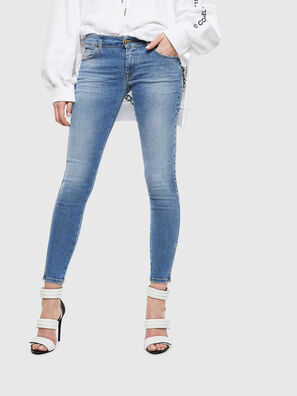 Slandy Low 0095B, Light Blue - Jeans