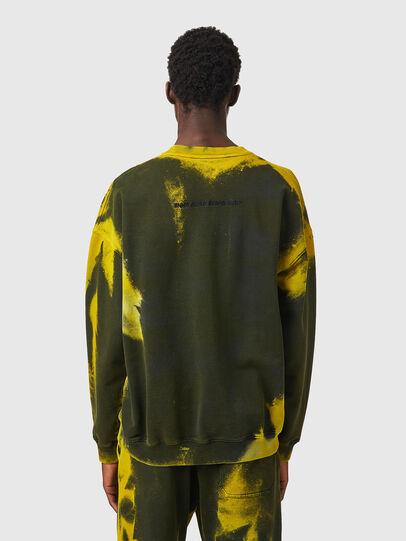 Diesel - S-MART-RIB, Yellow/Green - Sweaters - Image 3