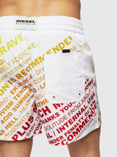 Diesel - BMBX-WAVE 2.017, White - Swim shorts - Image 4