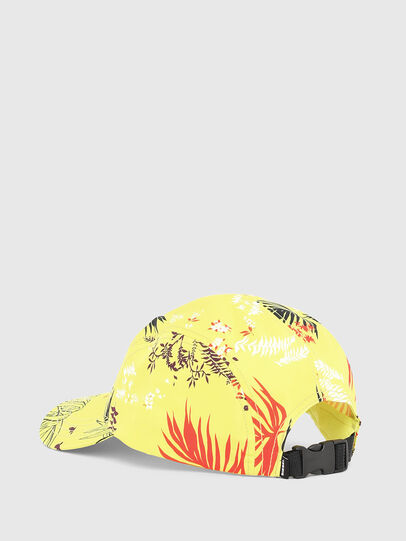 Diesel - C-WAY, Yellow Fluo - Caps - Image 2