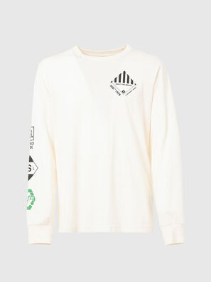 T-JUST-LS-N60, White - T-Shirts