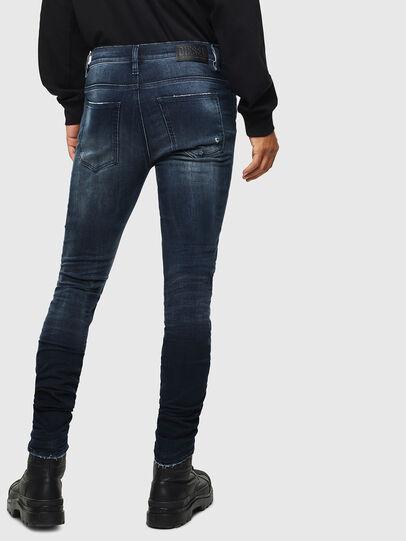 Diesel - D-Istort 0098R, Dark Blue - Jeans - Image 2