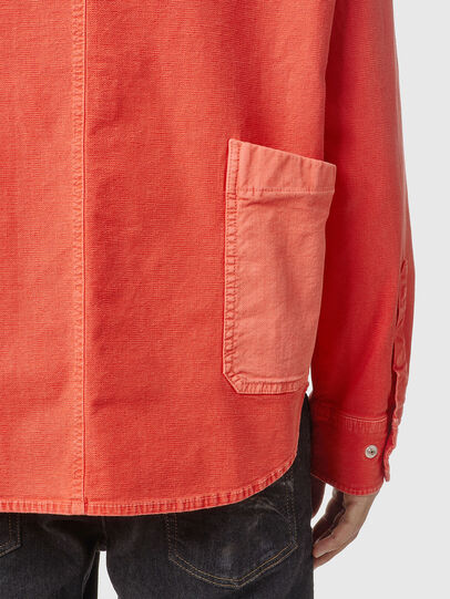 Diesel - D-HORU-SP JOGGJEANS, Orange - Denim Shirts - Image 4