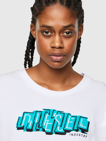 Diesel - T-BOWLESS-A1, White - T-Shirts - Image 3