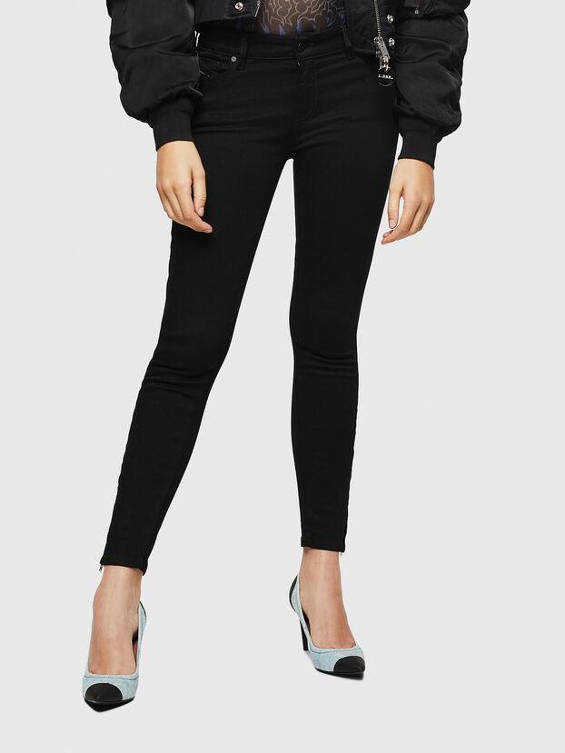 Slandy Zip 069EF, Black/Dark grey - Jeans