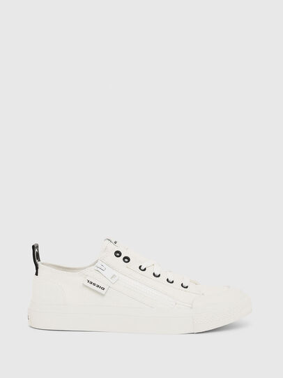 Diesel - S-ASTICO LOW ZIP W, White - Sneakers - Image 1