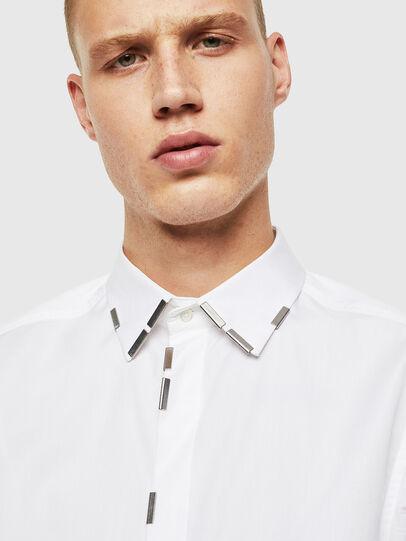 Diesel - S-MARLENE, White - Shirts - Image 3