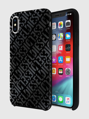 DIESEL PRINTED CO-MOLD CASE FOR IPHONE XS & IPHONE X, Black - Cases