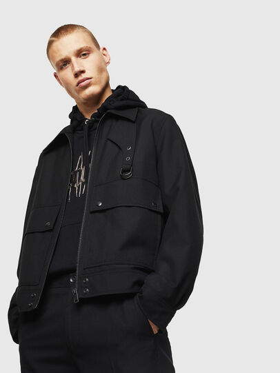 Diesel - J-GABLE-A,  - Jackets - Image 5