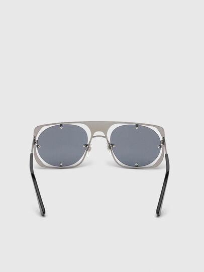 Diesel - DL0305, Gray/Black - Sunglasses - Image 4