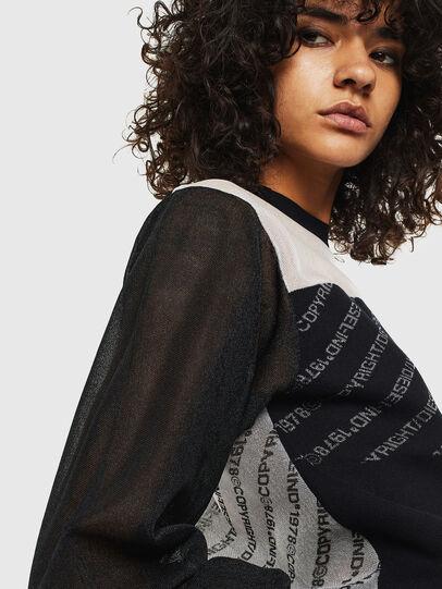 Diesel - M-COPI, Black/White - Knitwear - Image 3