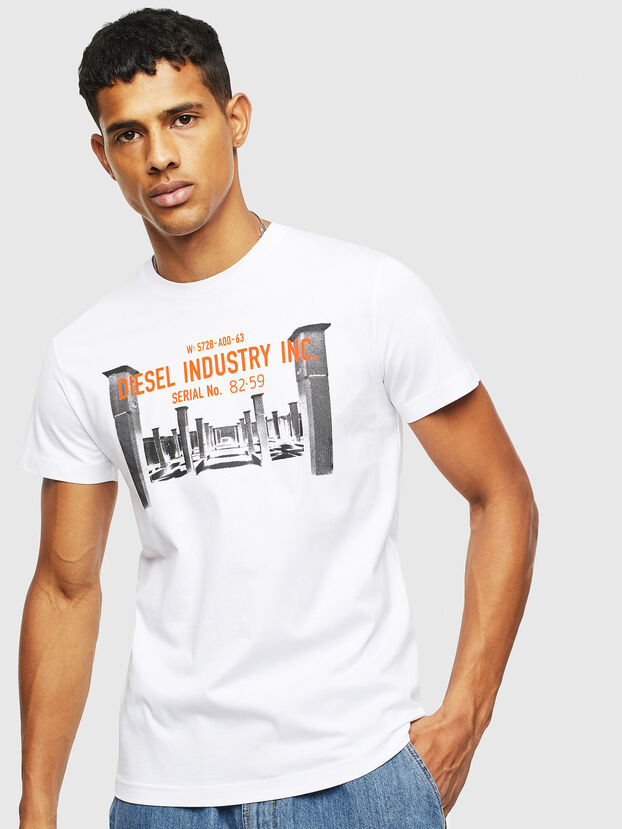T-DIEGO-S13, White - T-Shirts