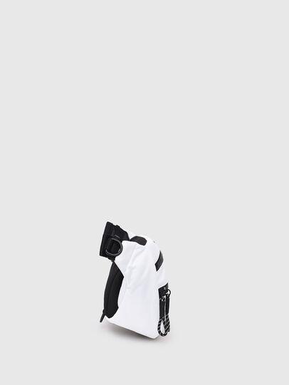 Diesel - F-URBHANITY BUMBAG, White - Belt bags - Image 3