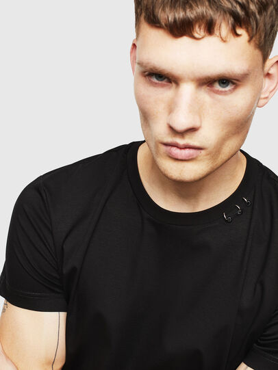 Diesel - T-GROSSI, Black - T-Shirts - Image 3
