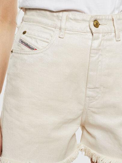 Diesel - DE-EISELLE, White - Shorts - Image 4