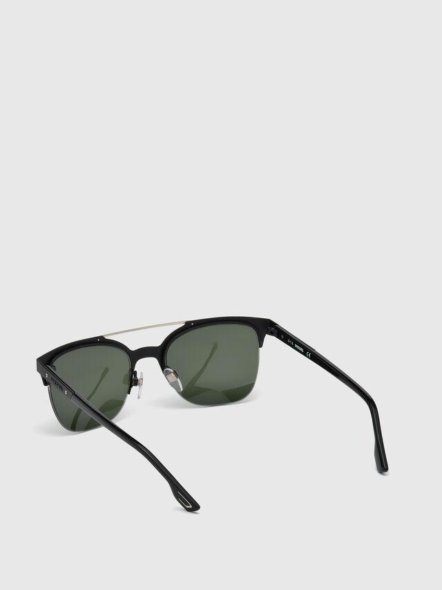 Diesel - DL0215, Black - Sunglasses - Image 4