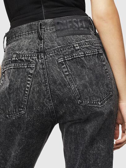 Diesel - P-GITTE-NEW, Black/Dark grey - Pants - Image 5