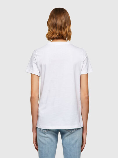 Diesel - T-SILY-B8, White - T-Shirts - Image 2
