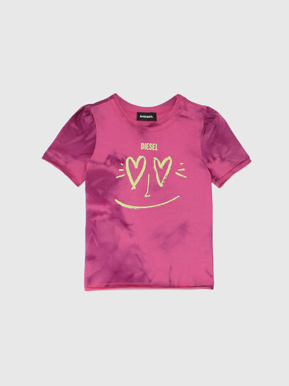 Diesel - TINTDB-R, Pink - T-shirts and Tops - Image 1