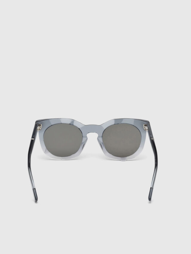 Diesel - DL0270, Grey - Eyewear - Image 4