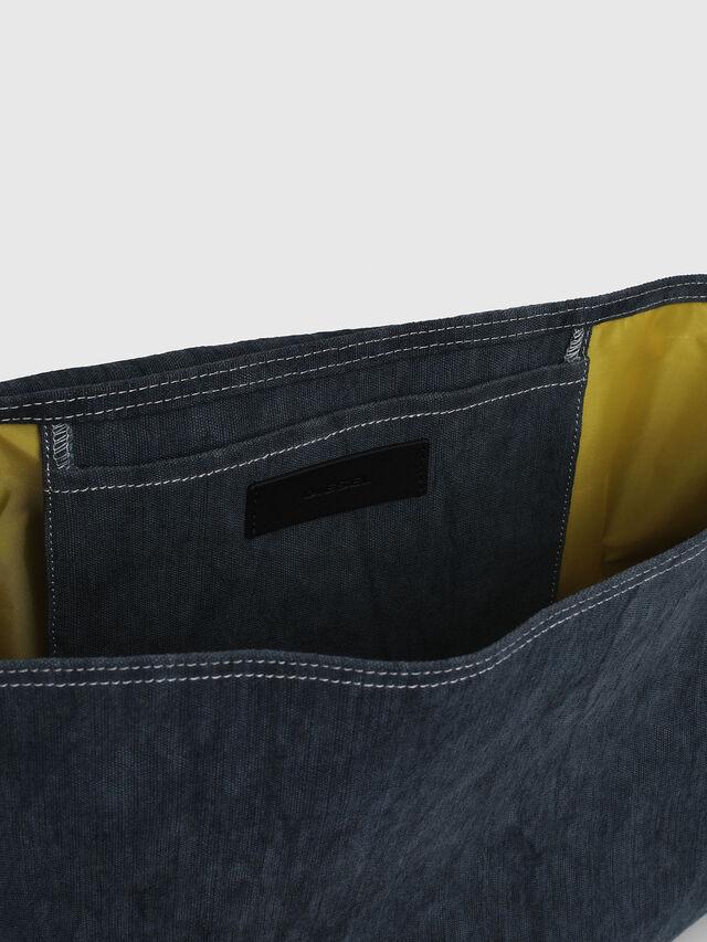 Diesel - D-THISBAG MESSENGER, Blue Jeans - Crossbody Bags - Image 4
