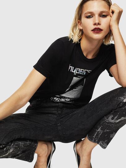 Diesel - T-SILY-YB, Black - T-Shirts - Image 5