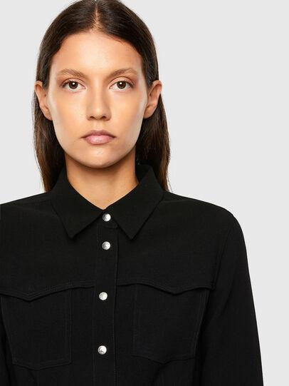 Diesel - C-SANDY, Black - Shirts - Image 3