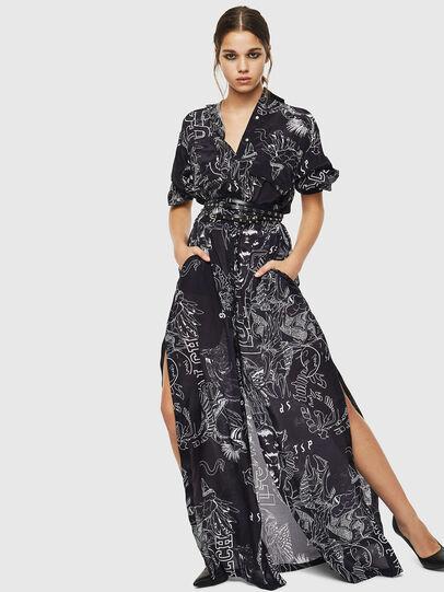 Diesel - O-MOYA-A, Black - Skirts - Image 5