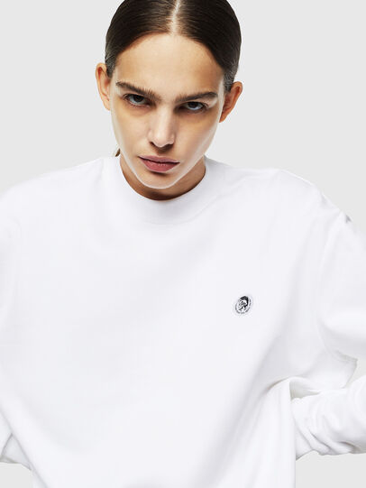 Diesel - S-LINK, White - Sweaters - Image 6