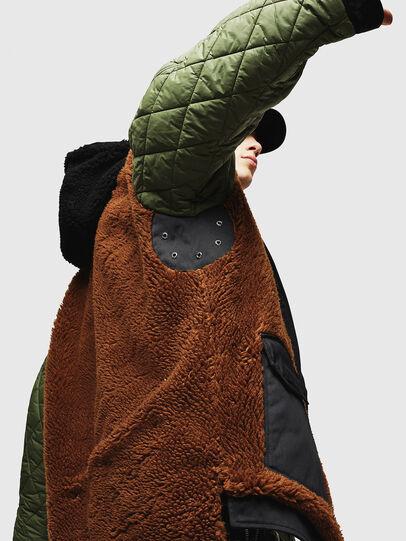 Diesel - W-PELSTIC, Black - Winter Jackets - Image 7