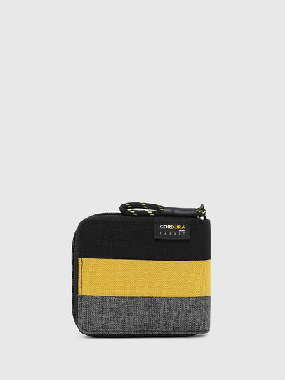 Diesel - ZIPPY HIRESH S, Black/Yellow - Zip-Round Wallets - Image 2