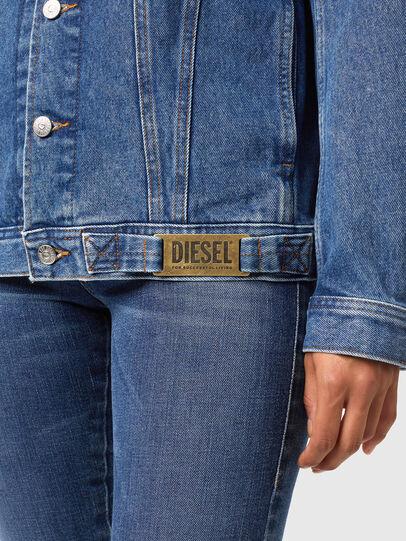 Diesel - NHILL-C1, Medium blue - Denim Jackets - Image 6