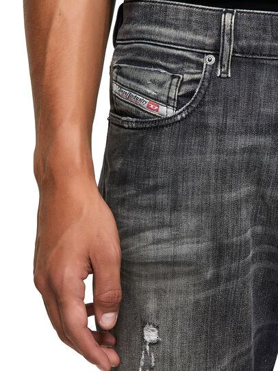 Diesel - D-Strukt JoggJeans® 09B54, Black/Dark grey - Jeans - Image 3