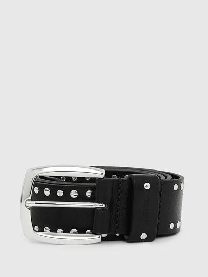 Diesel - B-ALPAGO, Black - Belts - Image 1