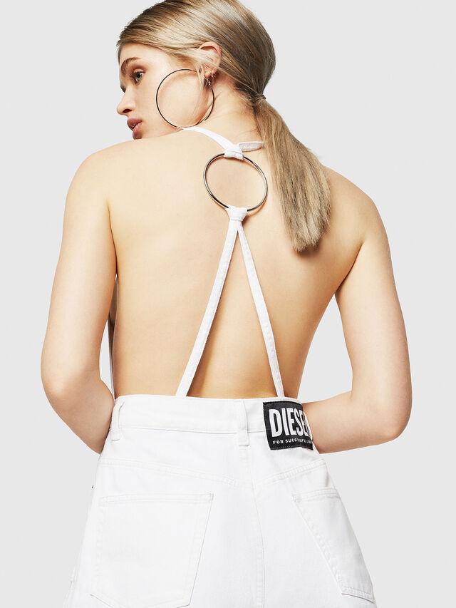 Diesel - DE-PANAREA, White - Jumpsuits - Image 5